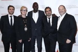 Olivier Nakache, Meryl Streep, Omar Sy, Eric Toledano and Mr. Weinstein.