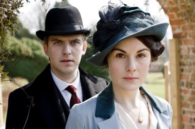 Dan Stevens and Michelle Dockery of 'Downton Abbey'