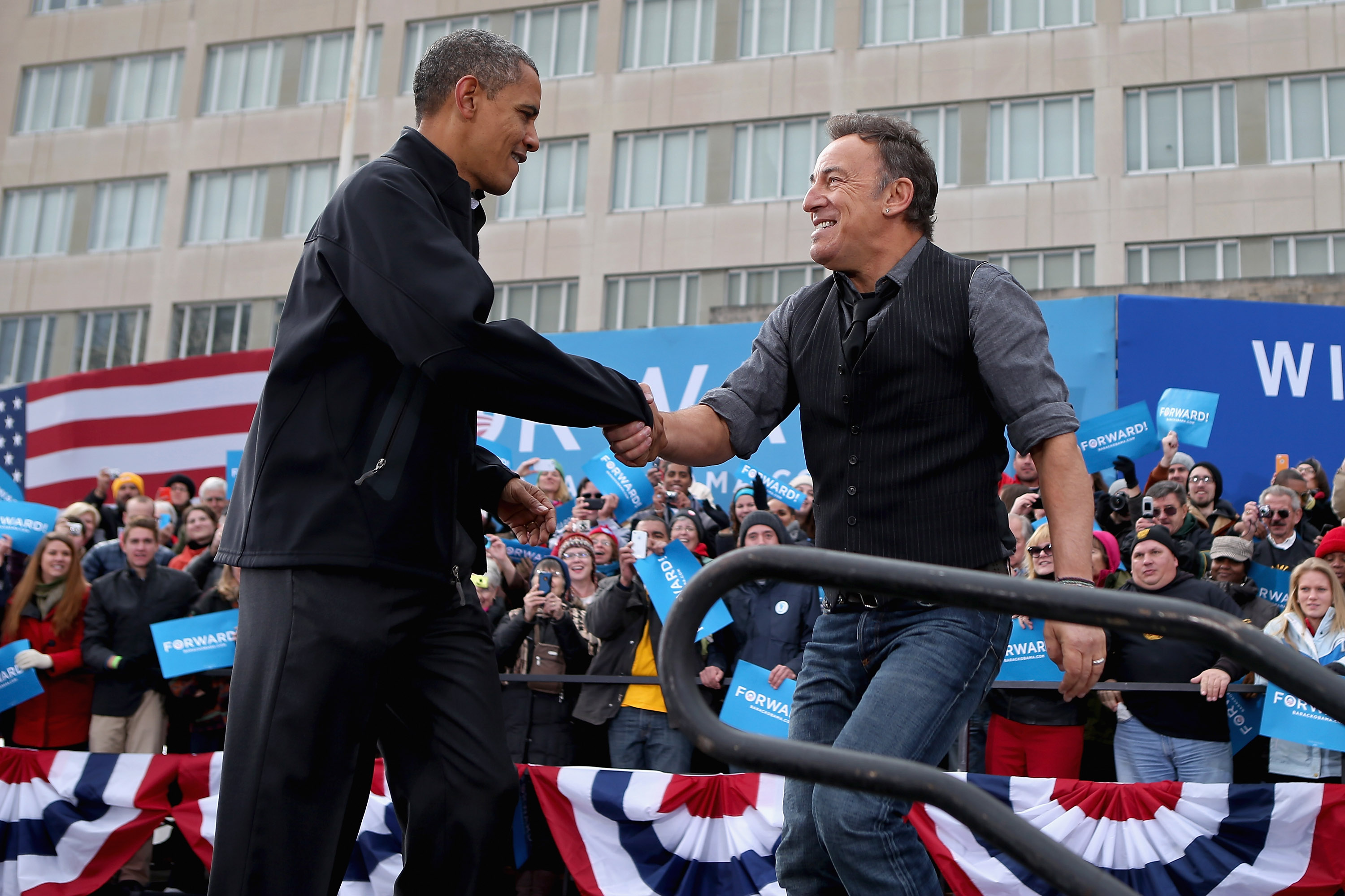 Shit, I campaigned with Obama in 2012, what happened last year?