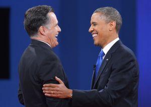 President Barack Obama and former Gov. Mitt Romney.