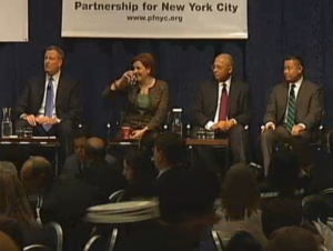 One of the dozens and dozens of mayoral forums.