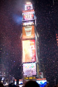 New York Ushers In New Year With Celebration In Times Square