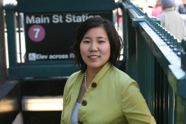 Congresswoman Grace Meng.