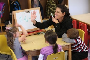 Learning mathematics in Woodbourne, N.Y. (Getty Images)
