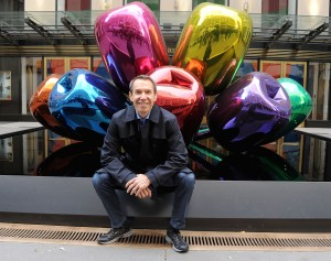 Koons. (Courtesy Getty Images)