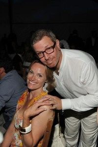 Andrea and Marc Glimcher, of the Pace Gallery. (Courtesy PMC)