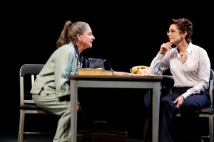 LuPone and Winger in 'The Anarchist.'