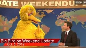 Big Bird: Best SNL sketch of the year? (NBC)
