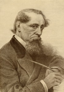 """Charles John Huffam Dickens, 1812-1870. English novelist. From the book """"The Masterpiece Library of Short Stories, English, Volume 7"""""""