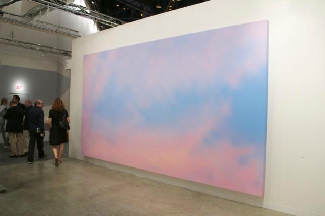 An Alex Israel at Almine Rech Gallery