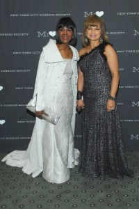 Cicely Tyson and Kathryn Chenault. [Patrick McMullan]