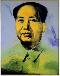 Andy Warhol, 'Mao,' 1973. (Museum Frieder Burda, Baden-Baden)