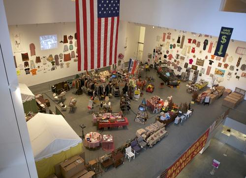 Martha Rosler's Meta Monumental Garage Sale. (Courtesy MoMA.org)