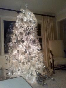 Sandra Lee's Christmas tree. (Photo: Twitter)