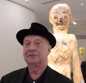 Georg Baselitz: he probably hates you. (Jacques Demarthon/AFP/Getty Images)