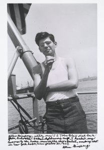 Allen Ginsberg in 1947. (Courtesy National Gallery of Art)