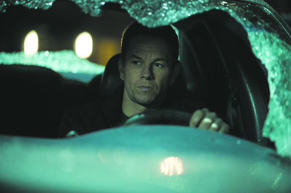 Wahlberg in Broken City.