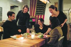"City Grit's ""Southern Shabbat"" dinner (Shao-Yu Liu)"