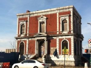 Gowanus's odd, appealing Coignet building.