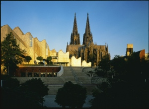 View of The Museum Ludwig and Cologne Cathedral. (Photo: Koelnmesse)