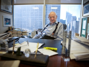 Ed Koch earlier this month. (Photo: Emily Anne Epstein)
