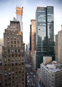 Forget Fifth Avenue, West Broadway or Columbus Circle—57th Street is New York's new gold coast. (Emily Epstein)