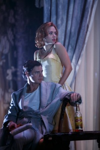 Scarlett Johannson and Benjamin Walker in Cat on a 'Hot Tin Roof.' (Joan Marcus)