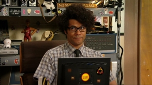 This nerd would go to CES and ENJOY it. Nerd. (Photo: IMDB)