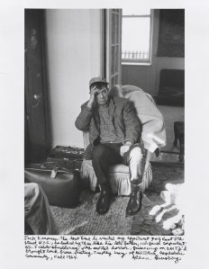 Jack Kerouac in 1964. (Courtesy National Gallery of Art)
