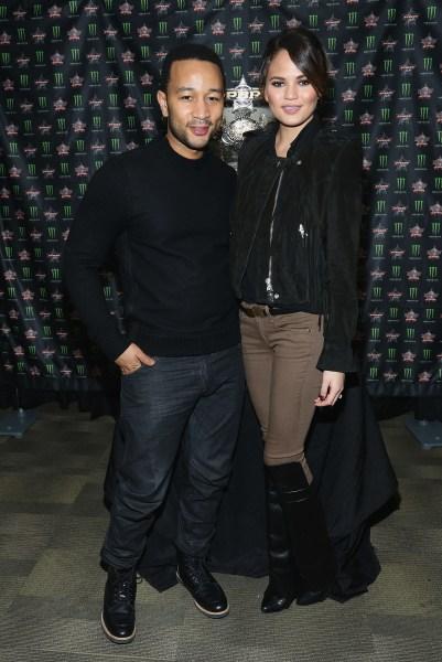 John Legend and Chrissy Teigen (Getty).