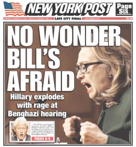 The New York Post today, presented without comment. (photo: newseum.org)