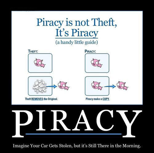 Information freedom view of piracy explained. (Memerial.net)