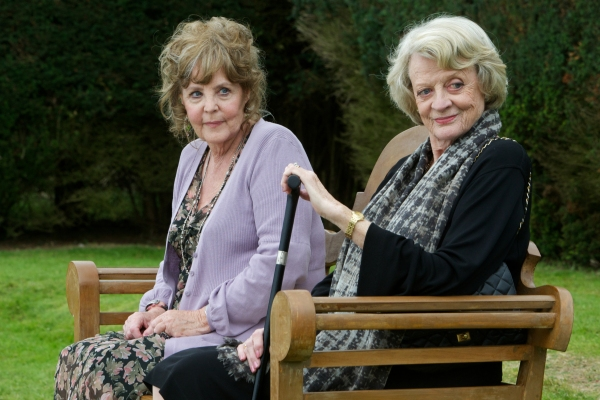 Pauline Collins and Maggie Smith star in Quartet