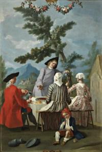Francesco Celebrano, 'Luncheon in the Countryside,' circa 1770–80. (Courtesy Sperone Westwater)