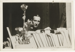 William Burroughs in 1953. (Courtesy Howard Greenberg Gallery)