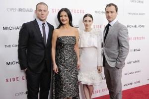 Channing Tatum, Catherine Zeta-Jones, Rooney Mara and Jude Law (Patrick McMullan)