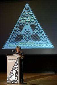 Lippard at the Brooklyn Museum in 2012. (Getty Images)