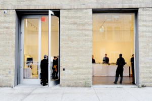 The gallery's Chelsea outpost. (Courtesy Patrick McMullan)