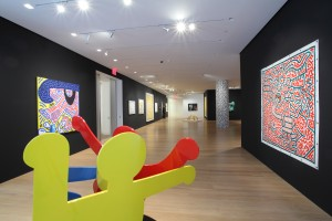 Sotheby's 'Keith Haring: Shine On' selling exhibition at its S|2 gallery. (Courtesy S2)