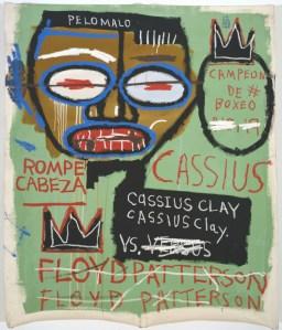 Jean-Michel Basquiat, 'Cassius Clay,' 1982. (Courtesy Gagosian Gallery)