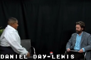 Zach Galifianakis and not-Daniel Day-Lewis (Funny or Die)