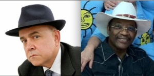 Gerson Borrero and State Senator Ruben Diaz in their respective hats.
