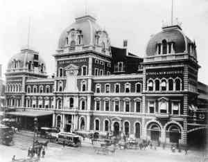 The old Grand Central, demolished to make way for change.