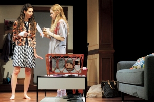 Lauren Culpepper, left, and Zosia Mamet in 'Really, Really.' (Courtesy Janna Giacoppo)