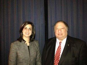 Nicole Malliotakis and John Catsimatidis (Photo: Twitter/@NMalliotakis)
