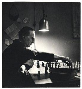 Duchamp in 1952. (Kay Bell Reynal/Wikimedia)