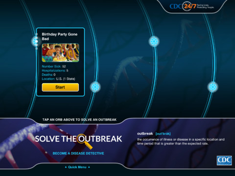 Solve the outbreak! (Photo: App Store)