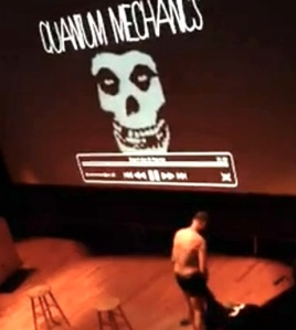 An unusual lecture (Vimeo)