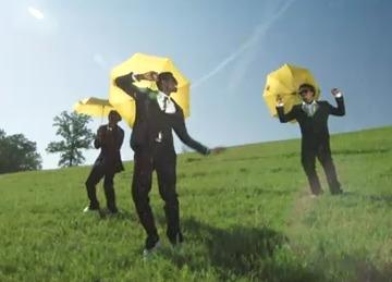 "Via Travis Porter's  metaphorical video interpretation/a> of his single, ""Make it Rain."""