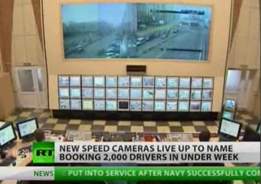 It's like they're TRYING to troll George Orwell. They know he's dead, right? (Photo: screencap, Russia Today)